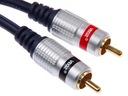 Przewód kabel CINCH 2*RCA - 2RCA VEOZ 2,5m