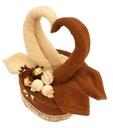 Tort z Ręczników grube - Łabędzie vintage Ferrero