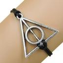 Bransoletka Harry Potter Insygnia Śmierci rzemyk