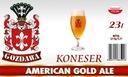 Brewkit GOZDAWA KONESER AMERICAN GOLD ALE
