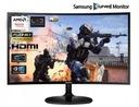 Zakrzywiony Samsung C24F390FHUX VA 4ms HDMI CURVED Rodzaj podświetlania LED