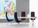 Текущая Карта Европы Кодовая 1:2600000 160x140cm FV