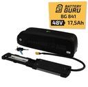 Bateria 48V 17,5Ah do ebike e-bike z ładowarką 4A Rozmiar ramy większa