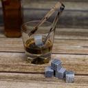 Whisky stones Kamienie lodowe - 9 szt w woreczku Waga (z opakowaniem) 0.3 kg