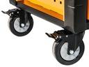 Шкаф инструментальный коляска CORONA 736 ele 11 выдвижных ЯЩИКОВ