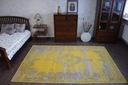DYWAN VINTAGE 140x200 ROZETA żółty TRADYCJA #B100 Rodzaj z krótkim włosiem