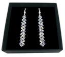 Hochzeit Ohrringe mit SWAROVSKI-Kristallen 588