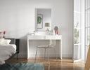 Туалетный столик и косметическое ASTRAL белая комод ящик