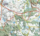 MAPA TURYSTYCZN MIASTO I GMINA ŁOBEZ 1:50 000 Autor EKO-MAP