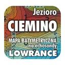 Jezioro Ciemino mapa na echosondy Lowrance Simrad