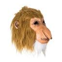 Lateksowa maska małpa 'Polak' Testoviron Nosacz