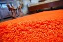 DYWAN SHAGGY 5cm 200x200 pomarańcz KAŻDY RO @10649 Wzór jednobarwny