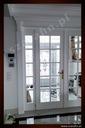 Drzwi wewnętrzne rzeźbione białe angielskie