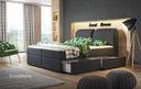 Łóżko kontynentalne Bolzano szuflady 3 materace !!