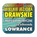 Wielkie Jeziora Drawskie mapy do echosond Lowrance