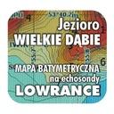 Jezioro Wielkie Dąbie mapa na echosondy Lowrance