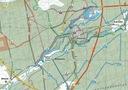 MAPA TURYSTYCZNA MIASTO I GMINA WIELEŃ GPS 3D Region Polska