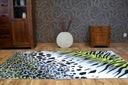 REWELACYJNY DYWAN FLASH 120x170 CĘTKI PASKI #B001 Długość 170 cm