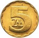 5 zł złotych 1988 mennicza mennicze