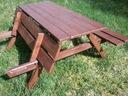 Stół ogrodowy Ławostół piwny 150x170 PRODUCENT Wysokość 75 cm