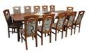 ada-meble Z-34 stół 100x160/400 i 12 krzeseł  $