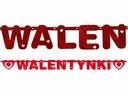 Banner-Inschrift Valentinstag Valentinstag Kranz 160 cm