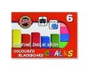 Kreda kolorowa do tablic 6 kolorów