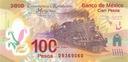 MEKSYK 100 Pesos 2007 P-128 OKOLICZNOŚCIOWY UNC