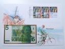 Koperta - HOLANDIA - 1 Gulden 1973 - K135