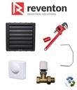 Nagrzewnica wodna REVENTON HC20 22,4kW ZESTAW 5w1