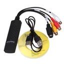 USB EASY CAP GRABBER RCA CHINCH VHS s-video audio
