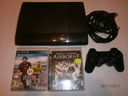 PS3 Playstation 3 super slim 500gb pad 2gry kable