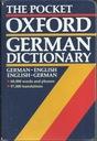 Pocket Oxford German Dictionary / Ger-Eng, Eng-Ger