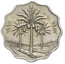 Irak - moneta - 5 Fils 1967