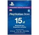 Sony PlayStation Network 15 zł