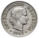 Szwajcaraia - moneta - 5 Rappen 1943