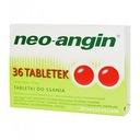 Neo-Angin z cukrem 36 tabletek d/ssania GARDŁO