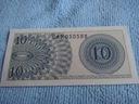 INDONAZJA 10 SEN 1964 ROK  Z PACZKI BANKOWEJ