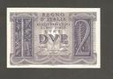 Banknot  WŁOCHY - 2  liry ( lire )