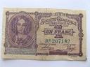 Banknot 1 frank Belgia 1916 stan 3-