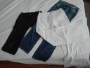 spodnie rozm L 3 pary