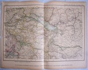 SZWAJCARIA. Mapa kolejowa.