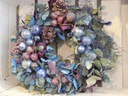NIEBIESKIE WSPOMNIENIE świąteczna dekoracja święta