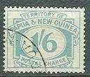 AS/Papua & New Guinea 1960 1/6sh Porto Stemp