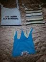 3 jesienne cienkie czapki 2-6 m h&m