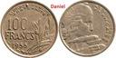 100 franków z 1955 roku z Francji