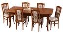 Duży klasyczny rozkładany stół 200/110---> 4,2m