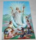 Pocztówka Rezurekcja Zmartwychwstanie Włochy 1980