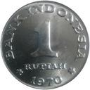 Indonezja 1 rupia, 1970