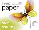 PRINTPRO papier FOTO matowy 10x15 190g 500 szt